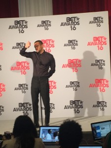 Jesse Williams; BET Awards 2016 Media Room