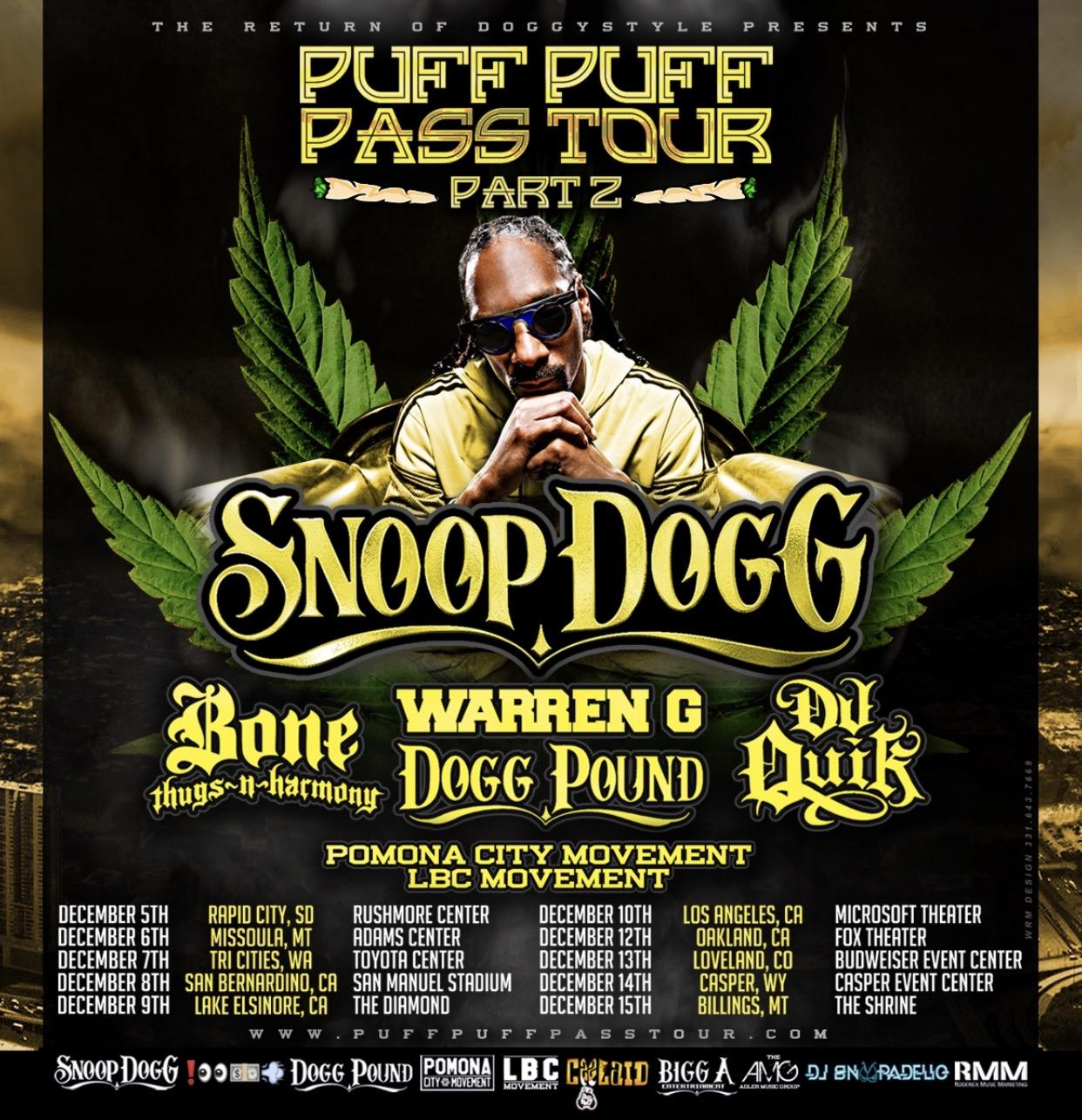 PUFF PUFF PASS TOUR 2