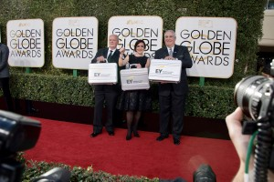 The accountants from EY attend the 74th Annual Golden Globes Awards at the Beverly Hilton in Beverly Hills, CA on Sunday, January 8, 2017.